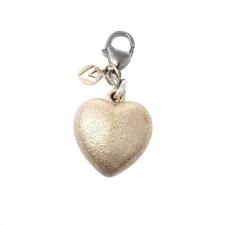 Van Bergen Golden Love Heart Charm