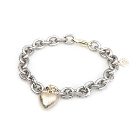 Van Bergen Golden Love Heart Armbånd